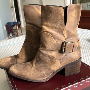 Donald J. Pliner Vintage Suede Boots